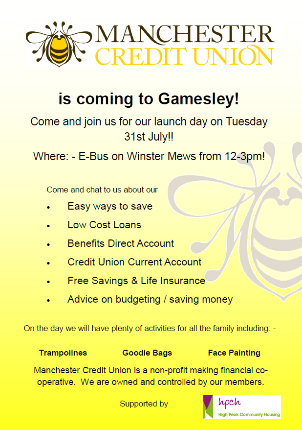 Credit Union Launch on Gamesley