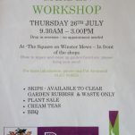Summer Garden Workshop